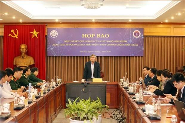 世卫组织请求越南向世界各地实验室分享检测新冠病毒试剂盒研究结果 hinh anh 1