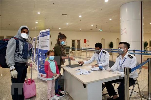 新冠肺炎疫情:加强内排国际机场口岸入境旅客检疫管控工作 hinh anh 1