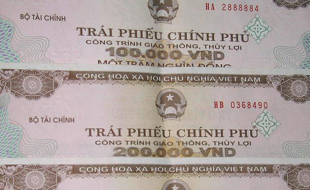 越南政府债券招标发行:成功筹资超过5万亿越盾 hinh anh 1