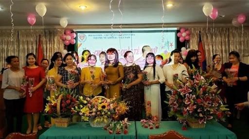 柬埔寨高棉-越南协会旗下的妇女发展扶助基金会问世 hinh anh 1