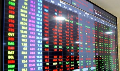 受疫情影响越南股市2月普遍下跌 hinh anh 1