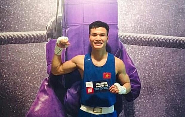 越南拳击运动员获得参加2020年东京奥运会的第5个参赛资格 hinh anh 1