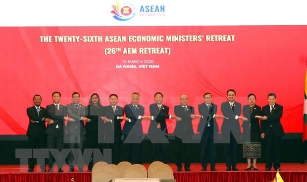 越南提出东盟经济合作12项倡议获批 hinh anh 1
