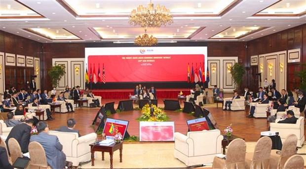 越南为第26届东盟经济部长非正式会议所作出的周密准备获国际社会高度评价 hinh anh 2