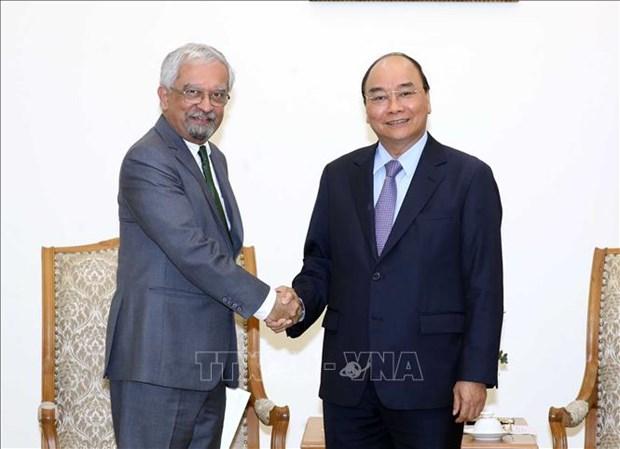 越南政府总理阮春福会见联合国常驻越南协调员马特拉 hinh anh 1