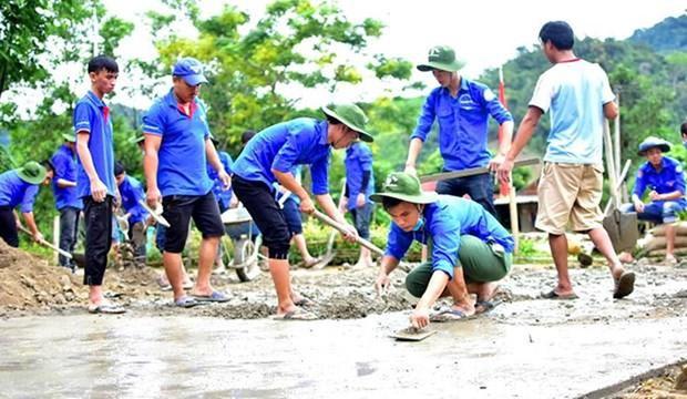 促进越南年轻人的全球志愿服务活动 hinh anh 1