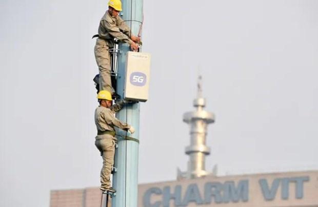 越南各大城市做好5G商用充分准备 hinh anh 1