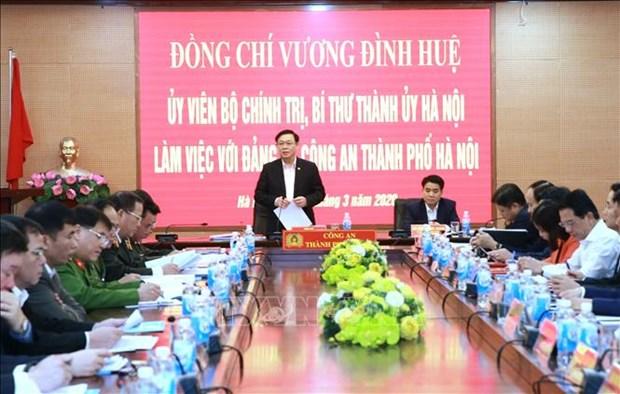 河内市取消多项节庆活动和会议 集中做好疫情防控工作 hinh anh 1