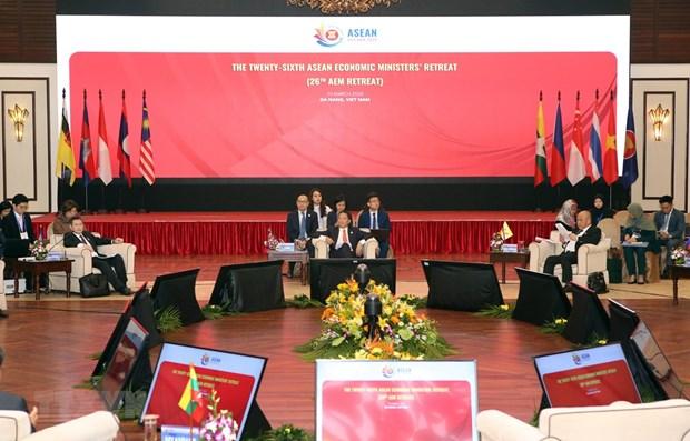 东盟经济部长发表关于应对新冠肺炎疫情的联合声明 hinh anh 1