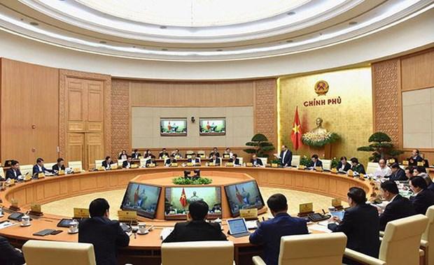 """越南政府2020年2月份例行会议决议:继续贯彻落实""""防疫犹如防敌""""的精神 hinh anh 1"""