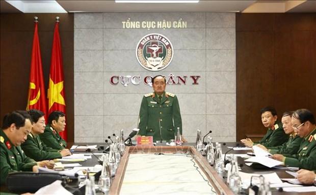 新冠肺炎疫情:越南军队为5个疫情风险等级做好准备 hinh anh 1