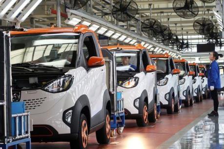 泰国力争在2025年发展成为东盟电动车制造中心 hinh anh 1