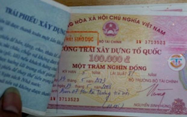 越南政府债券招标发行:成功筹资3.12万亿越盾 hinh anh 1