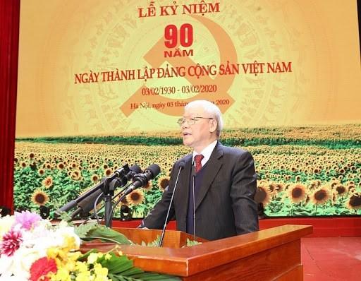 阮富仲总书记、国家主席在越南共产党建党90周年大会上的讲话(全文) hinh anh 1