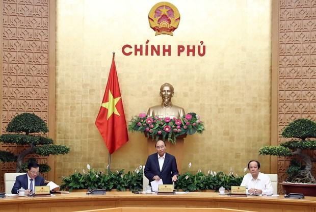阮春福总理:采取紧急和适当的措施来克服困难 实现可持续发展 hinh anh 1