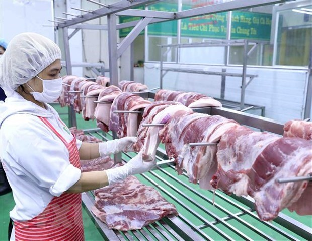确保猪肉市场保供稳价 hinh anh 1