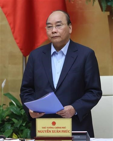 """阮春福总理:每个人、每户家庭、每个社区要起到""""防疫堡垒""""作用 hinh anh 1"""