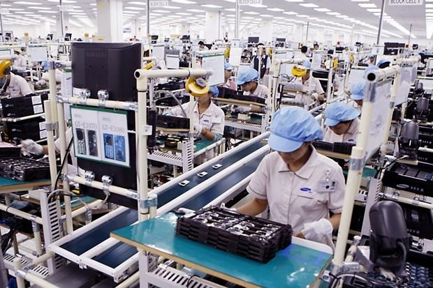 越南手机及零配件跃居出口商品首位 hinh anh 1