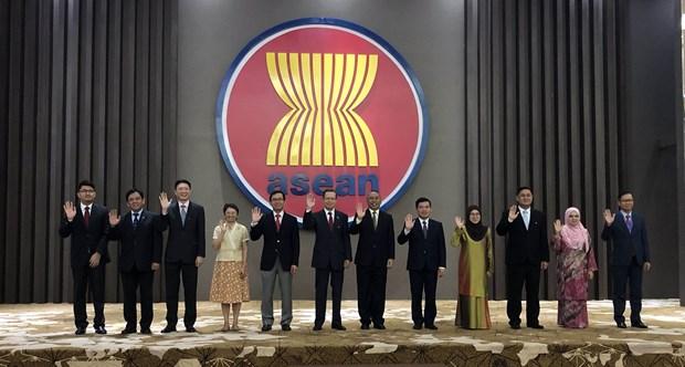 2020年东盟主席年:东盟与俄罗斯一致同意进一步深化战略伙伴关系 hinh anh 1