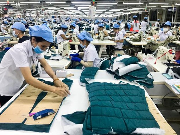 2020年前两个月越南纺织服装出口额达53亿美元 hinh anh 1
