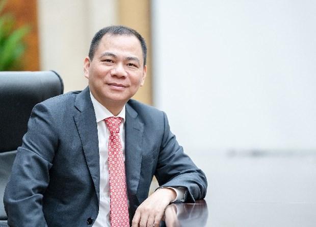 越南三名富豪跻身全球富豪榜单 hinh anh 1