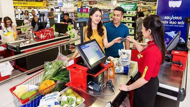越南做好防疫保供稳价 超市送货上门 hinh anh 1