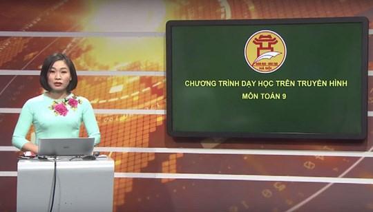 3月19起河内市将开展电视教学 hinh anh 1
