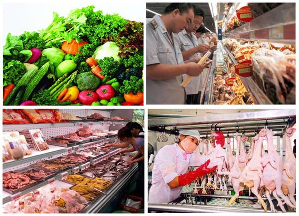 越南各地的农林水产品食品安全排名结果揭晓 hinh anh 1