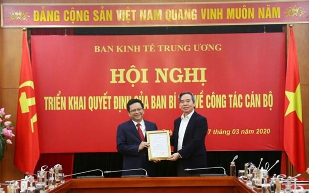 越共中央书记处任命中央经济部副部长 hinh anh 1