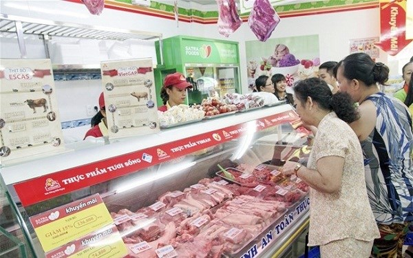 确保猪肉市场供应充足 hinh anh 1