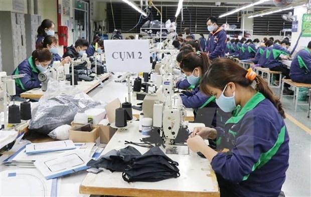 新冠肺炎疫情:越南有能力满足人民对防疫口罩需求 hinh anh 1