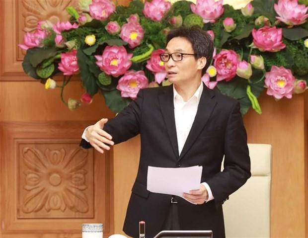 新冠肺炎疫情:武德儋副总理强调万众一心对防疫工作的重要性 hinh anh 2
