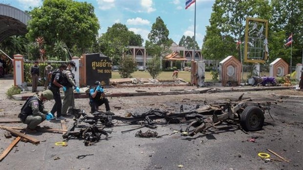 泰国也拉府发生爆炸 致18人受伤 hinh anh 1