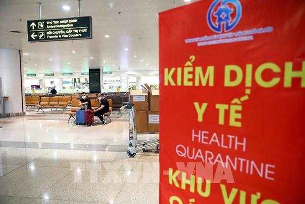 新冠肺炎疫情:卫生部就3趟发现有新冠肺炎确诊病例的航班发出紧急通知 hinh anh 1