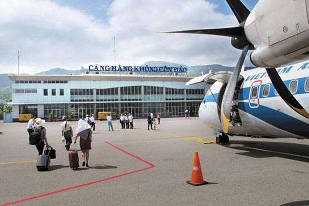 越航允许往返昆岛乘客更改机票 hinh anh 1
