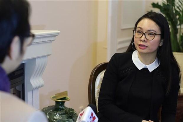 新冠肺炎疫情:越南驻俄罗斯大使馆严阵以待应对疫情新演变 hinh anh 1