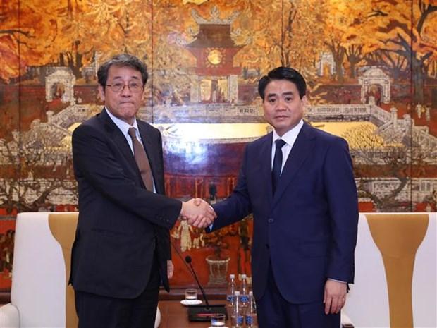 进一步加强河内市与日本各地方的合作 hinh anh 1