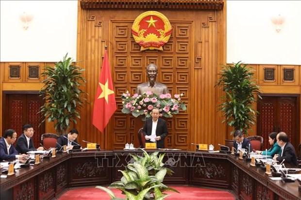 张和平副总理:决不让企业股份制改革中牟取暴利行为发生 hinh anh 1