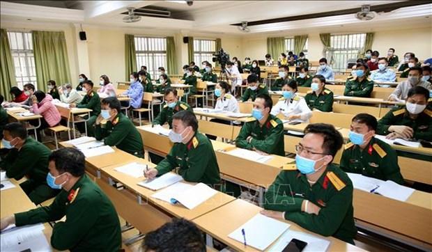 越南军队各医疗机构已为新冠病毒检测做好准备 hinh anh 2