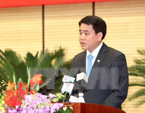 """河内市人民委员会主席阮德钟表示:""""河内封城""""消息不实 hinh anh 1"""