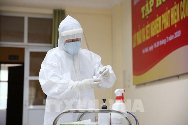 越南新增9例新冠肺炎确诊病例 累计确诊85例 hinh anh 1