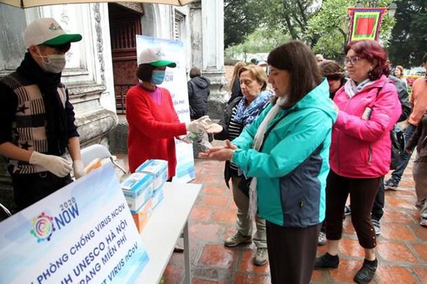 河内市积极维护安全友善的旅游形象 让游客放心游 hinh anh 1