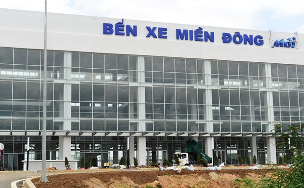 胡志明市新客运东站成为全国规模最大的客运站 hinh anh 1
