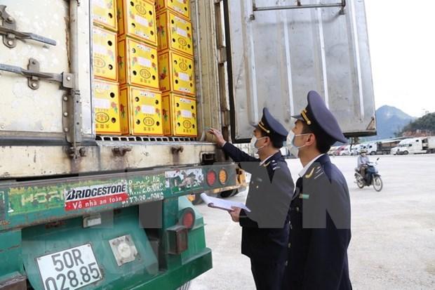 工贸部:在就卫生检疫流程达成一致后才把货物运到越柬边境口岸 hinh anh 1