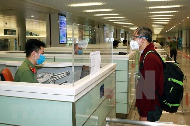 新冠肺炎疫情:越南外交部发布有关调整入境规定的通知 hinh anh 1
