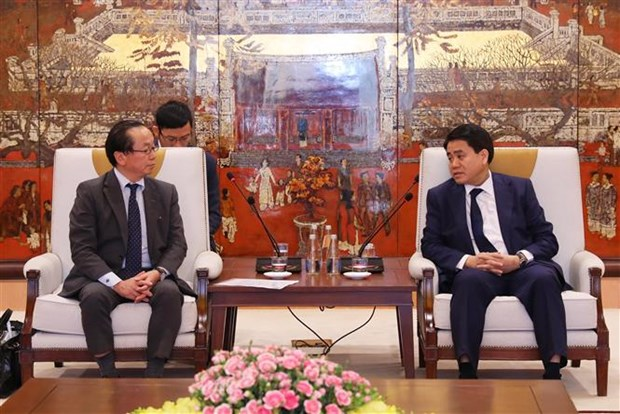 河内市与日本国际协力机构联合加快合作项目的进度 hinh anh 1