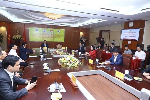 越南启动1407短信募捐活动 为新冠肺炎疫情防控工作捐款 hinh anh 1