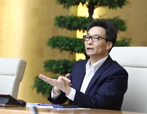 新冠肺炎疫情:武德儋副总理表示越南隔离区人人平等 不存在区别对待现象 hinh anh 1