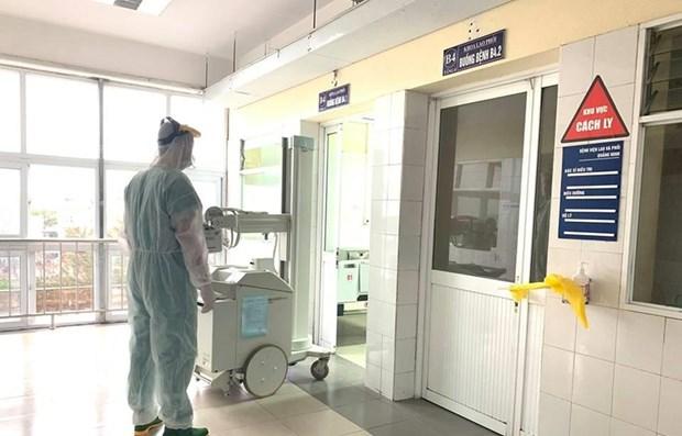 越南新增两例新冠肺炎病例 截至目前累计确诊94例 hinh anh 1