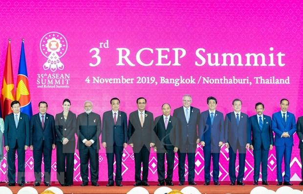 各国承诺今年达成《区域全面经济伙伴关系协定》 hinh anh 1